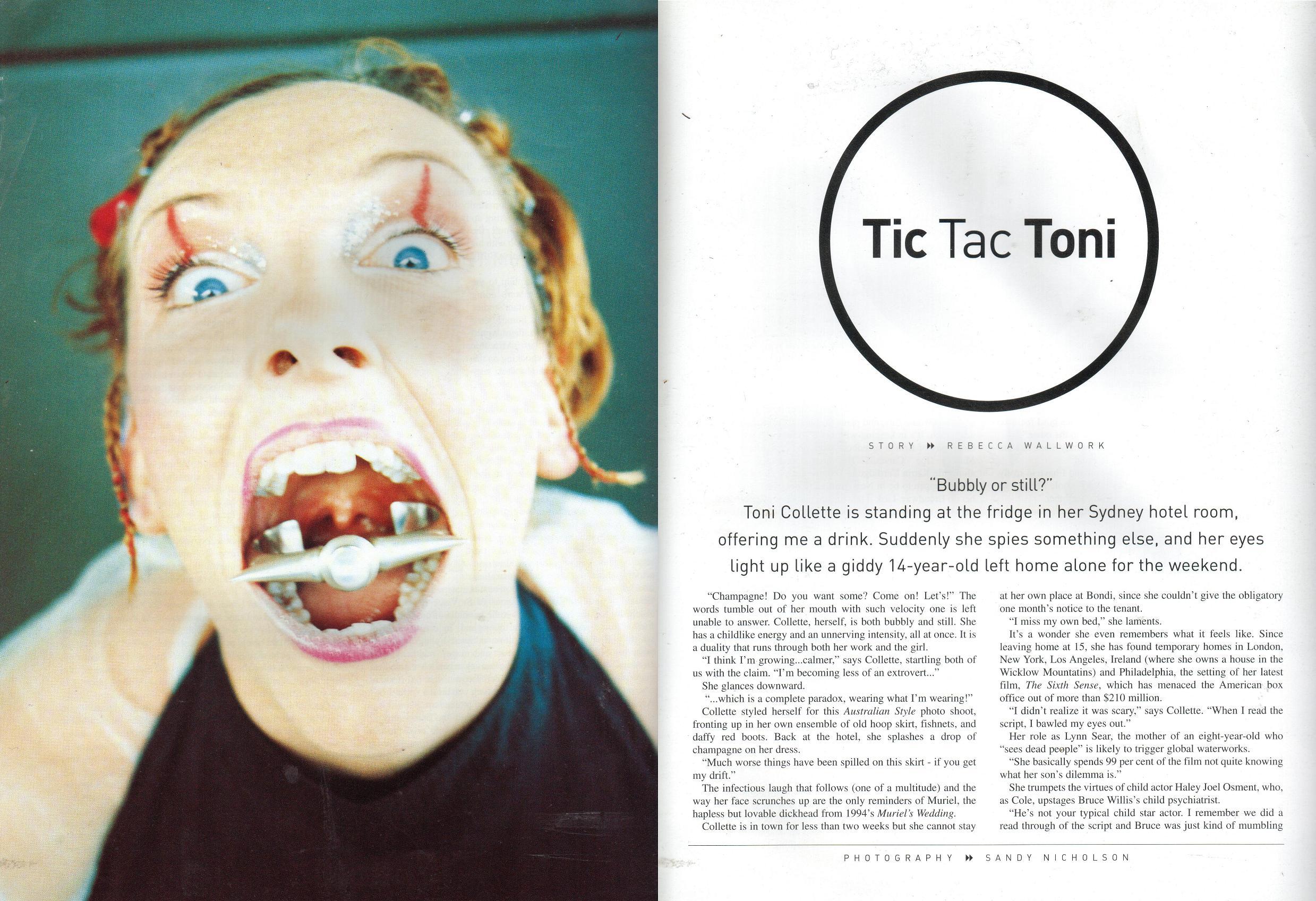 Toni Collette: Austral...