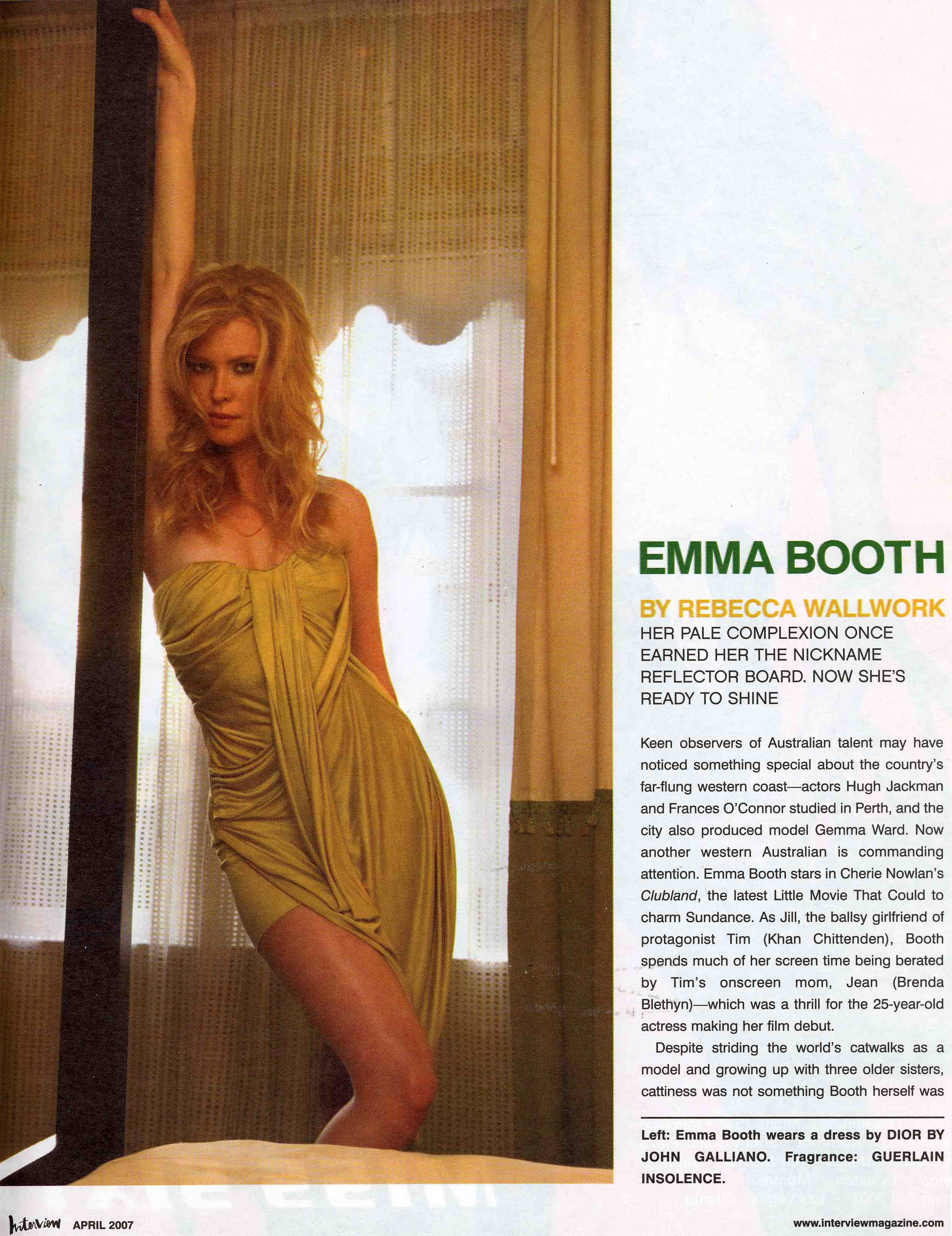 Emma Booth: Interview ... Justin Timberlake